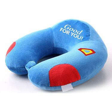 九洲鹿 家纺 u型枕头慢回弹车用U型枕记忆棉颈枕汽车头枕 尺寸31*30*13 (单个)