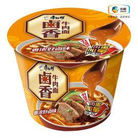 康师傅 卤香牛肉桶面(桶装 106g)