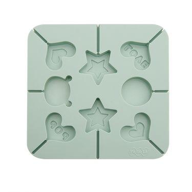 FaSoLa烘培工具 棒棒糖巧克力硅胶DIY模具 方形糖果模具