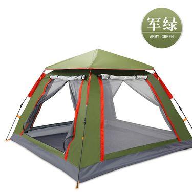 探险者帐篷户外3-4人全自动露营野外加厚防雨野营  TXZ-0023