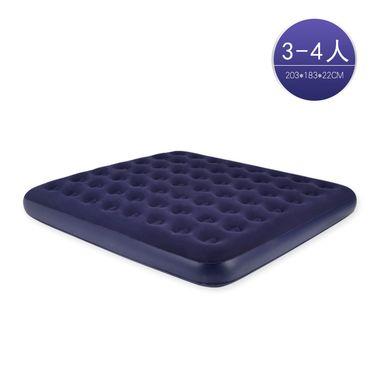 探险者充气床双人气垫床加大3-4人加厚充气床垫家用午休床户外便携床 TXZ-0073