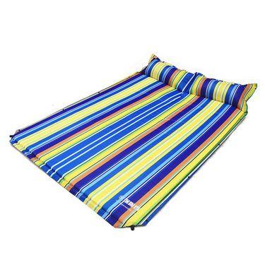 探险者户外自动充气垫双人加厚加宽气垫床露营帐篷睡垫 TXZ-0074平板