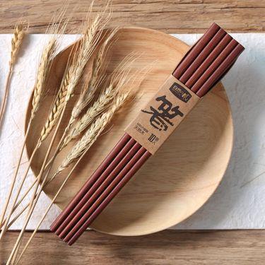 自然の风 自然の風红檀木平顶筷子(无漆)HF-HTM02