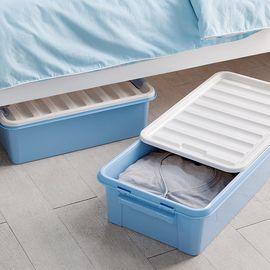丽芙 家居  密封式床底收纳箱     大号床底收纳箱塑料收纳盒整理箱扁平床下衣服被子储物箱