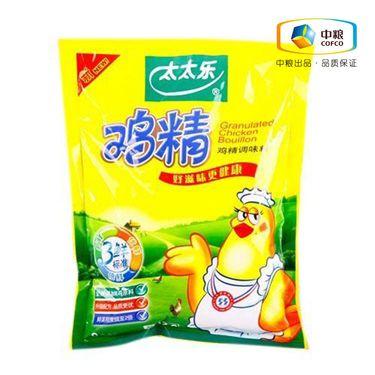 太太乐 鸡精(袋装 454g)  加倍提鲜 面条煲汤调味品炒菜调味料替代味精