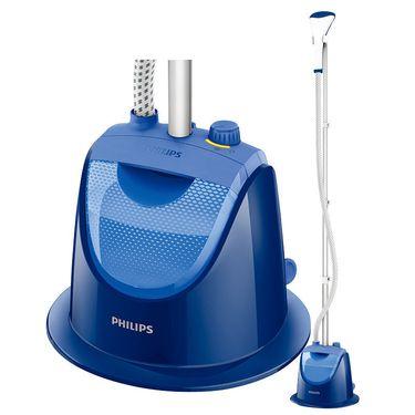 飞利浦(PHILIPS) 蒸汽挂烫机 家用烫衣服手持挂式熨烫机 新品上市 蓝色GC499 单杠1档模式