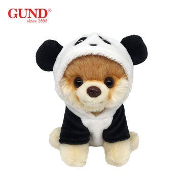 GUND 毛绒玩具仿真狗狗公仔布娃娃玩偶博美国宝熊猫BOO小狗儿童圣诞节礼物13CM