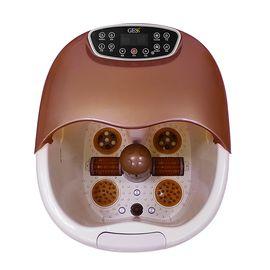 GESS 德国品牌 按摩加热足浴盆滚轮按摩洗脚盆冲浪足浴器 GESS858