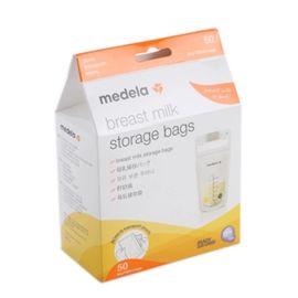 美德乐 (Medela)储奶袋母乳储存袋存奶保鲜袋可冷藏冷冻180ml50片装