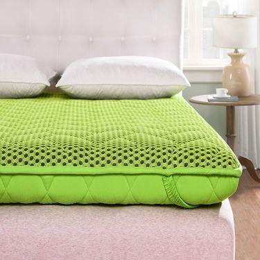 沁园 家纺MC加厚榻榻米床垫子1.8m床1.5米双人学生宿舍可折叠床褥子地铺垫被(8FE8)