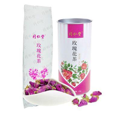 同仁堂 【中粮】同仁堂牌玫瑰花茶45g