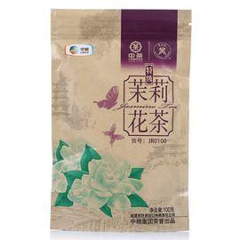 中茶 【中粮】中茶蝴蝶牌茉莉花茶特级100g 鲜爽醇厚 汤色明亮 可重复封闭