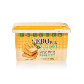 EDO 榴莲风味夹心饼干 家庭促销装600g