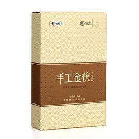 中茶 【中粮】中茶百年木仓黑茶1kg 3年陈手工金茯