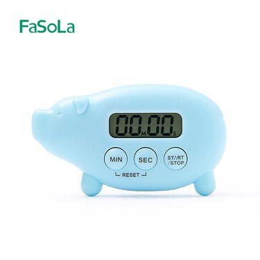 FASOLA厨房电子计时器可吸附