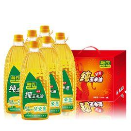 融氏 【中秋礼盒】  纯玉米胚芽油礼盒装 1.018L*6瓶/盒 【物理压榨、油品清香透亮】