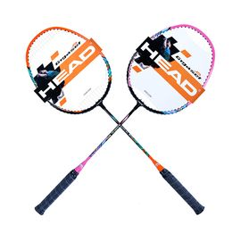 HEAD 海德  2支装 超轻量穿线初学者对拍羽毛球拍 L800/L900