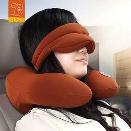 GIGI 吉吉 太空记忆棉汽车头枕 车用U型枕头护颈枕 脖子呵护旅行午休枕 G-1333