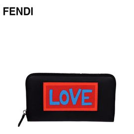 FENDI /芬迪 钱包 7M0210 意大利进口 时尚印花 洲际速买