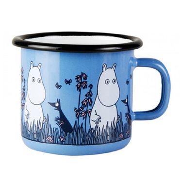 muurla搪瓷杯姆明珐琅杯 儿童杯小号 250ml