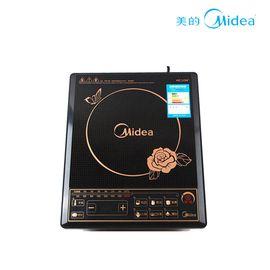 美的 (Midea)电磁炉HK2002黑晶面板经久耐用 黑色(赠锅具)