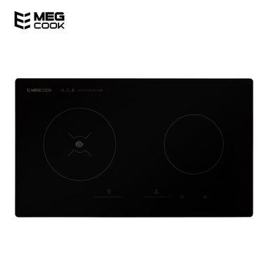 【划触嵌入式双灶】 MegCook美尔科智能电磁炉无烟灶 手机APP语音烹饪 嵌入式双灶(左电磁炉 右电陶炉)