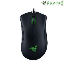 雷蛇 Razer/雷蛇 Deathadder 炼狱蝰蛇1800 DPI 有线游戏鼠标 黑色 电竞鼠标 原封 现货速发