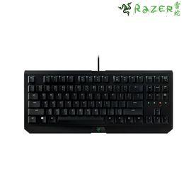 雷蛇 Razer/雷蛇 悬浮式游戏机械键盘 黑色绿轴 原装 机械键盘 现货速发  原封发货