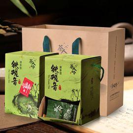 茶人岭 特级安溪铁观音清香型(盒装 252g*2)臻品彩盒 甘爽生香 耐泡