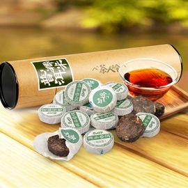 茶人岭 糯米沱茶云南普洱茶品(圆筒装 250g)