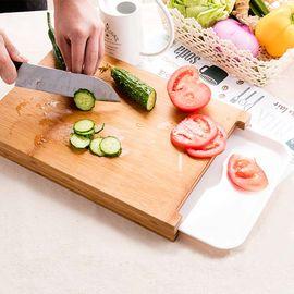 丽芙 家居LifeVC 多功能砧板   家用厨房案板切菜板竹木粘板实木防霉切板面板菜板水果砧板