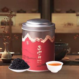 茶人岭 正山小种红茶二级50克银罐装 高山茶园茶味