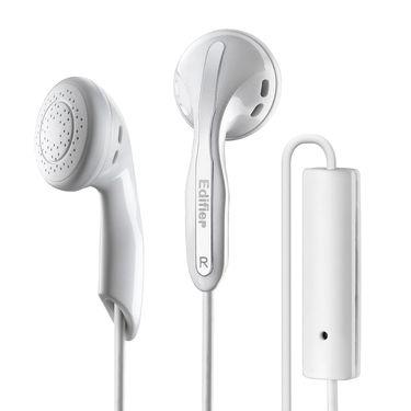 漫步者 EDIFIER H180P 耳塞式音乐耳机 手机线控通话耳麦