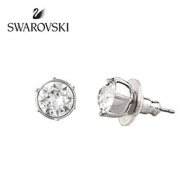 Swarovski 施华洛世奇 大尺寸镀白金色耳环 1179717