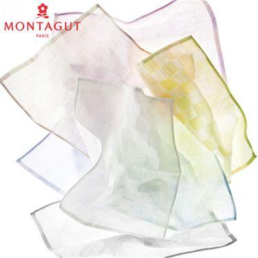 梦特娇 Montagut蜂巢中空纱华夫格面巾 纯棉毛巾 轻盈柔软吸水 A类