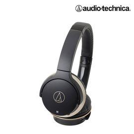 铁三角 【官方旗舰店】头戴式 无线蓝牙便携耳麦ATH-AR3BT BK 蓝牙耳机 黑色