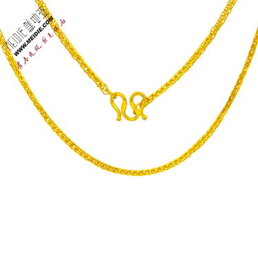 Meidie 美地亚 珠宝足金黄金项链精品-肖邦链 GN0018金重范围:约5.00g-6.00g