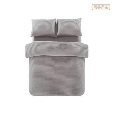 【严选】全棉色织绗缝四件套