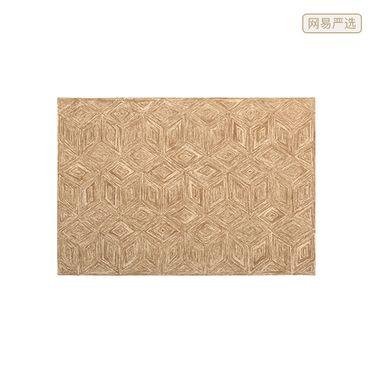 网易严选 160*230羊毛圈绒枪刺地毯