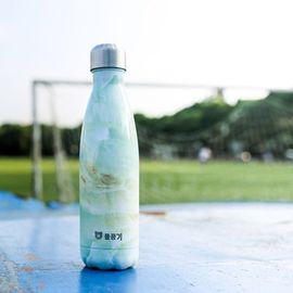 杯具熊  理白可乐杯 保温杯艺术可乐杯 不锈钢杯子 户外运动水壶创意车载水杯 原装原封