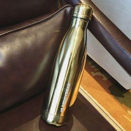 杯具熊 土豪金可乐杯 保温杯艺术可乐杯 不锈钢杯子 户外运动水壶创意车载水杯 原装原封