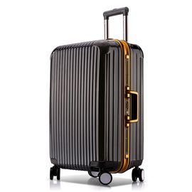 途帮 铝框万向轮拉杆箱 8170 黑色26寸 行李箱