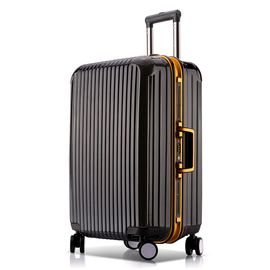 途帮 铝框万向轮拉杆箱 8170 黑色29寸 行李箱