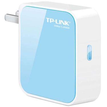 TP-Link 普联 TL-WR800N 300M迷你无线路由器 家用AP随身WIFI上网中继器有线转无线出差旅游便携式