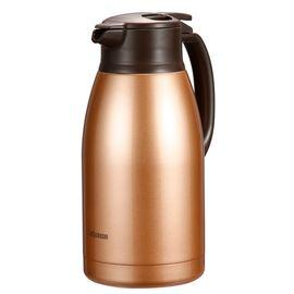 象印 ZOJIRUSHI HA19C保温壶大容量家用热水瓶不锈钢真空保温瓶1.9L 不锈钢色