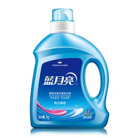 蓝月亮 【单瓶包邮】亮白增艳洗衣液 薰衣草 2kg/瓶