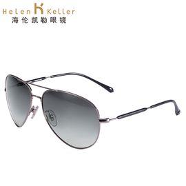 海伦凯勒 太阳镜男款 时尚偏光太阳镜 开车蛤蟆镜潮驾驶墨镜 H1284