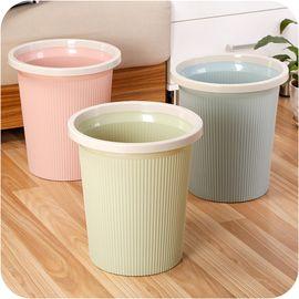 馨乐屋 多彩办公室家用垃圾桶 卫生桶 颜色随机