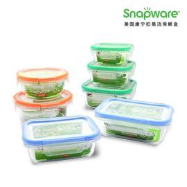 World Kitchen 康宁  SNAPWARE 康宁扣 ECO Clean 易洁保鲜盒SW-EC1504(七件套)