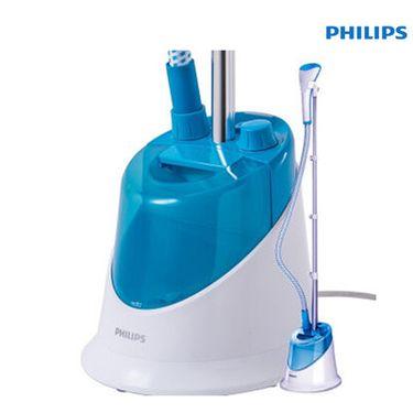 飞利浦 (Philips)挂烫机GC502/28家用蒸汽挂烫机 1500w带手套(天空蓝)